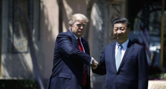 Chinese State Media Hails Trump, Xi Meeting