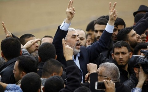 Just in case anybody forgot what Hamas's 'March of Return' is really all about.