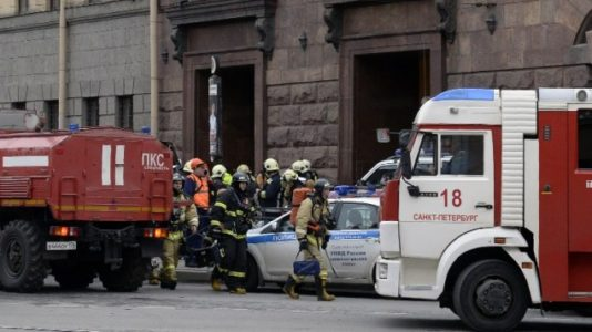 Terrorism in Russia: 10 killed as blast hits Saint Petersburg subway, dozens injured