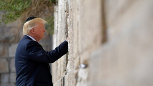 Trump makes history as first serving US president to visit Western Wall.