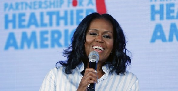 Michelle Obama Compares Trump's Presidency to Bad Parenting.