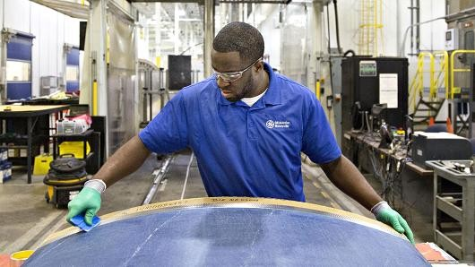 Black unemployment rate falls to record low.