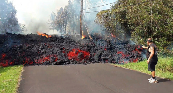 Trump issues disaster declaration for Hawaii volcano damage.