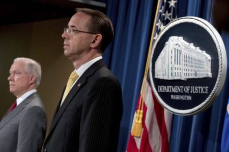 Report: Rod Rosenstein Offers Resignation to John Kelly.