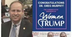 Institution Loses Enormous: Dr. Greg Murphy Wins GOP Nomination in North Carolina Special Election