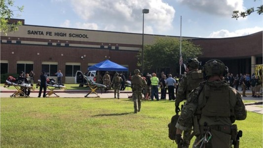 """""""May God Heal the Injured – And God Be With the Victims' Families""""- President Trump Speaks on Santa Fe High School Shooting."""