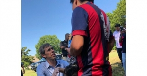 In Mississippi, 'Beto' O'Rourke Mad at Donald Trump for 'Terrifying' Illegal Immigrants
