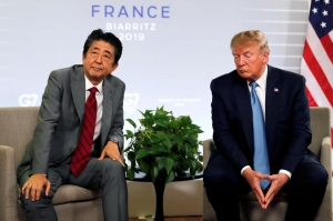 Trump, Abe disagree on North Korea missile launches