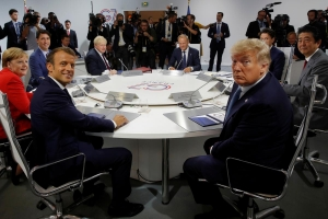 Macron says G7 agreed on joint action over Iran to defuse tensions