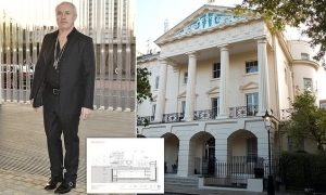 Damien Hirst gets go-ahead to build huge basement under the garden of his £40million mansion