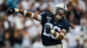 Penn State officials take shirts from players supporting teammate after scathing letter