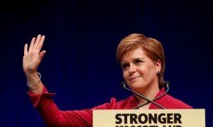 Nicola Sturgeon claims SNP is 'WINNING' battle to break up the UK