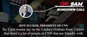 CNN Media Coordinator: Zucker Hates Trump, Has 'Personal Vendetta' Against Him