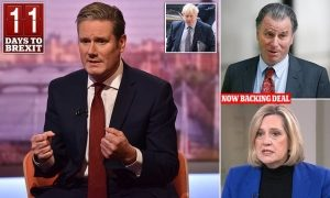 Labour will back second referendum when Brexit legislation is brought in
