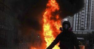 Hong Kong Descends into Chaos Again as Protesters Defy Ban – Breitbart
