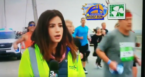 Jogger slaps Georgia TV reporter's behind live on-air