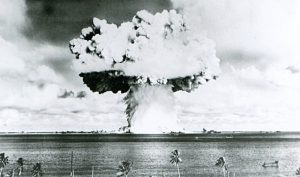 'Nuclear battlefield' revealed as scientists map Bikini Atoll test craters and sunken warships