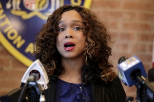 Baltimore state's attorney blasts police union's 'political rhetoric' after video shows mob attacking officer
