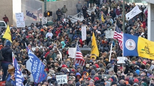 Virginia's Capitol flooded with gun rights activists as Second Amendment rally is underway