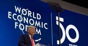Donald Trump Cuts Down Globalism, Celebrates Economic Nationalism at Davos