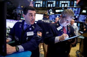 S&P 500, Nasdaq hit record highs on IBM, chip power