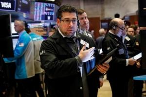 China virus concerns, mixed earnings dampen Wall St mood