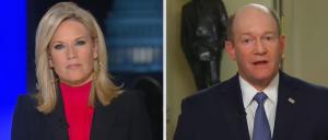 'Can I Talk Now?': Things Get Tense When Martha MacCallum Presses Sen. Chris Coons On Ambassador Firing