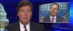 'Dishonest And Stupid': Tucker Wonders If Mick Mulvaney Is 'Trying To Undermine' Trump's Immigration Agenda