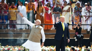 Trump receives warm welcome in India, announces $3 billion defense deal | TheHill