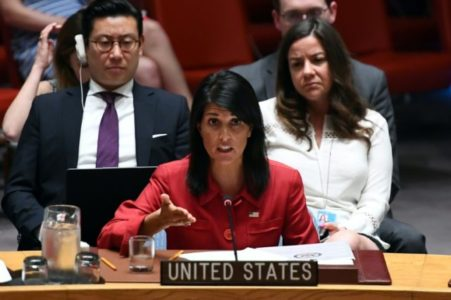 Major Win for Trump: U.N. Security Council Votes to Slap Sanctions on N Korea
