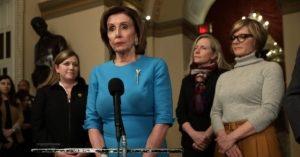Donald Trump Trashes Nancy Pelosi Coronavirus 'Witch Hunt'