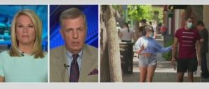 Brit Hume Hits Back At CNN Mask Criticism: Biden 'Looked Ridiculous,' Masks 'Not Necessary' Outdoors