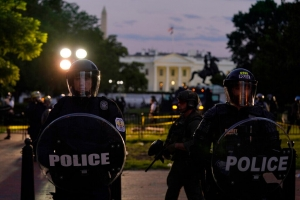 Secret Service agents wounded outside White House, car bombs feared; official says Trump was taken to bunker