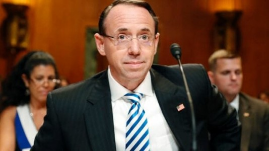 BREAKING: Lawmaker Drafts Articles Of Impeachment For Deputy AG Rod Rosenstein.