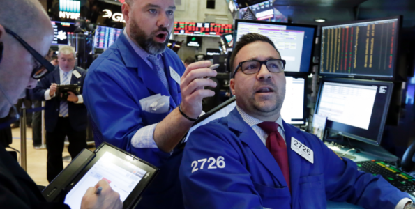 Down, then up: Stock market goes on another wild ride.