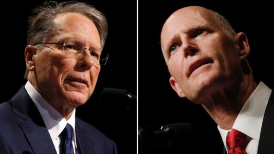NRA sues Sunshine State after Gov. Scott signs gun control bill.