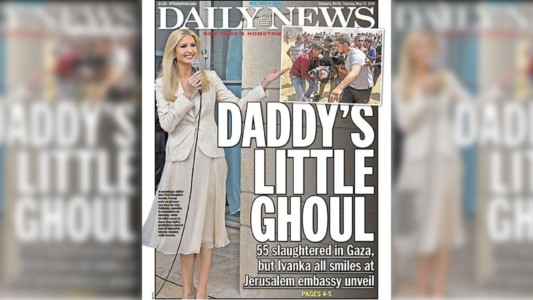 New York Daily News slammed for mocking 'deplorable' Ivanka Trump as 'Daddy's Little Ghoul'