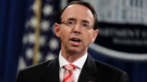 BREAKING: House Republicans Introduce Articles of Impeachment Against Rosenstein