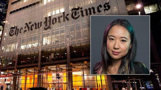 New York Times defends double standard in hiring writer with a history of explicit, hateful racism directed at whites.