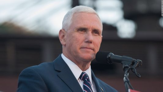 Paris Agreement on climate change: Pence says Trump 'fighting for American jobs'