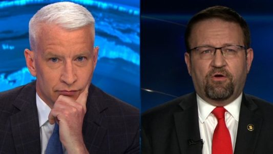 Sebastian Gorka To Anderson Cooper: 'Sad To See CNN Fall To This' [VIDEO]