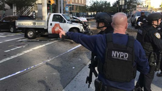 DEVELOPING: Multiple People Dead In Manhattan Following Car Attack Near World Trade Center
