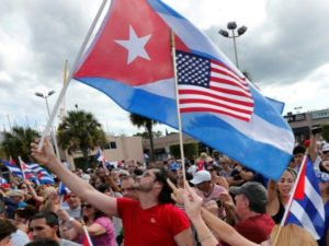 STATEMENT OF SUPPORT FOR PRESIDENT DONALD TRUMP ON U.S. POLICY TOWARDS CUBA