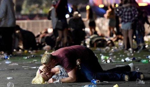 Democrats politicize Las Vegas while Trump prays for grieving families