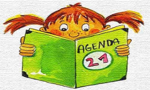 Agenda 21 kids book