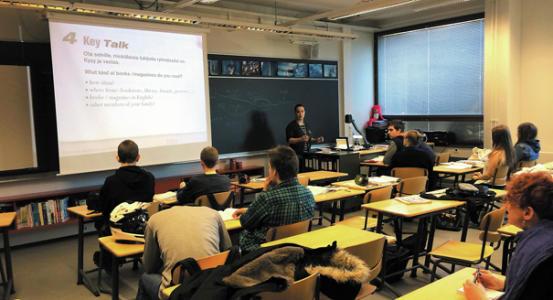 Finns beat U.S. with low-tech take on school