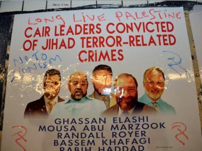 'Truth About CAIR' Posters Vandalized in New York Subway Stations