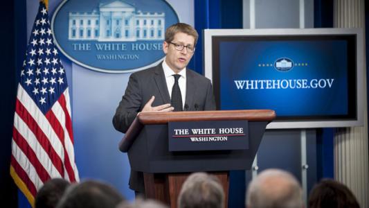 Carney out as WH spokesman