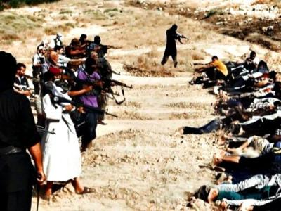 Shock Video: ISIS Conducting Mass Executions in Syria