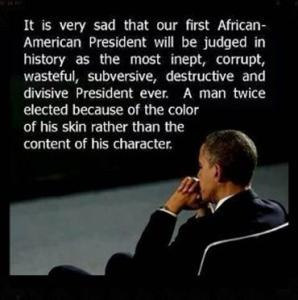 BARACK OBAMA AND THE JUDGEMENT OF HISTORY